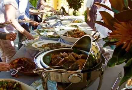 Jordan Harvest Lunch buffet