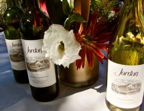 Jordan wine for Harvest Lunch