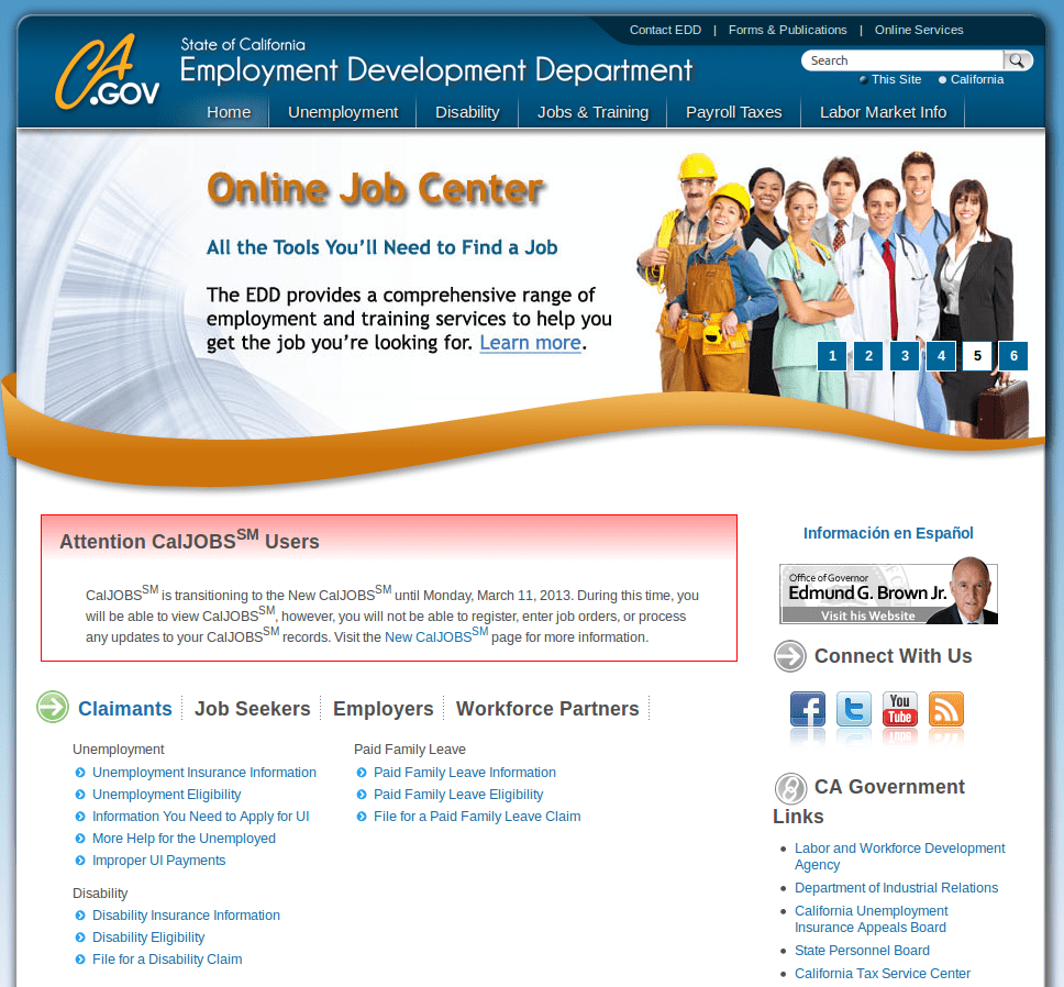 Charming Upload Resume On Www Caljobs Ca Gov Gallery - Entry Level ...