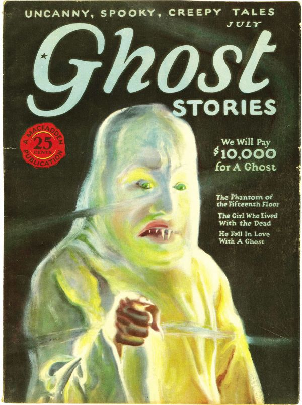 Ghost Stories, July 1926