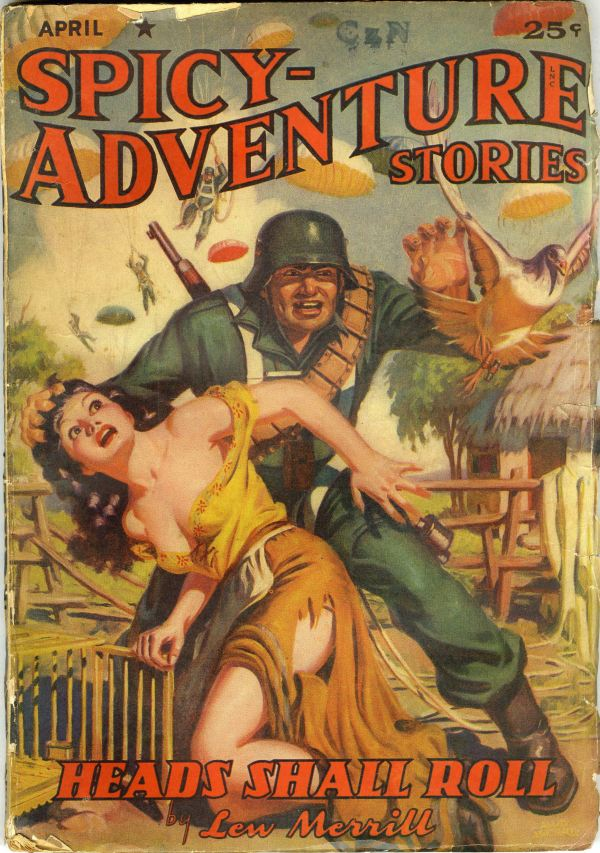 Spicy-Adventure Stories April 1942