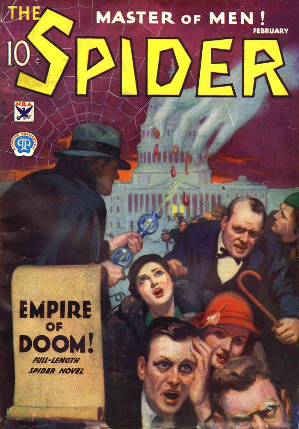 Spider 5 Empire of Doom