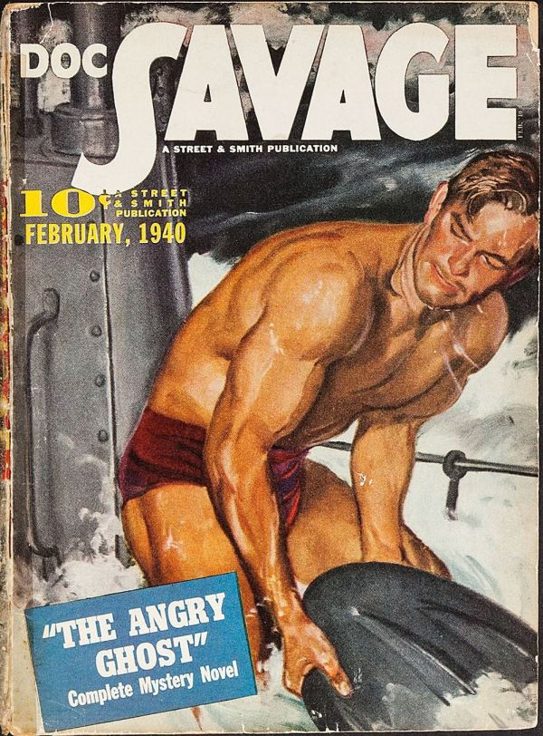 Doc Savage February 1940