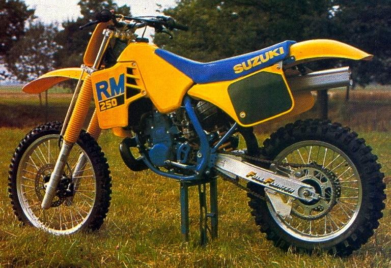 Classic Steel #79- 1988 Suzuki RM 250 \u2013 PulpMX