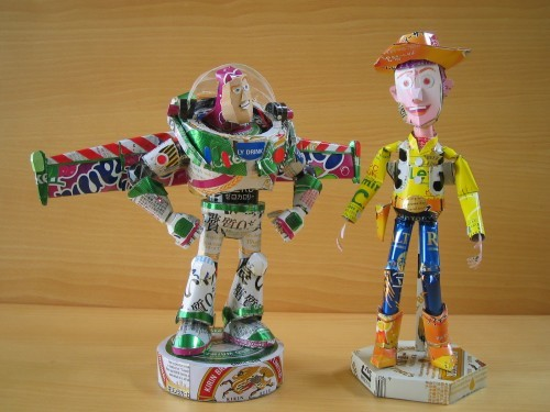 22. Buzz Lightyear and Woody.