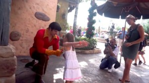 Little Girl Puts Gaston In His Place At Disney World