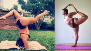 These Curvy Ladies Prove You Don't Have To Be Slim To Be Awesome At Yoga