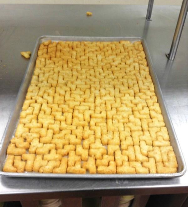 Tetris Tater Tots