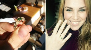 Man Makes A Wedding Ring By Hand And Proposes To His Girlfriend With It