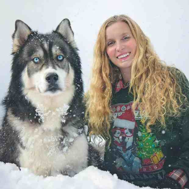 Woman Rescues Husky Puppy, Then He Saves Her From An Abusive Relationship