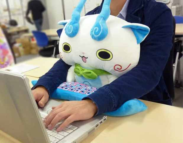 cute pc wrist rest cushion japan 10 - These Lap Cushions Protect Your Wrists And Make For A Cute Desk Buddy