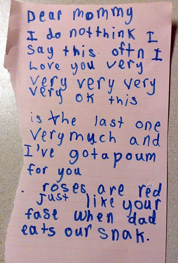 17 Brutally Honest Valentines Day Messages From Kids  Fabweb