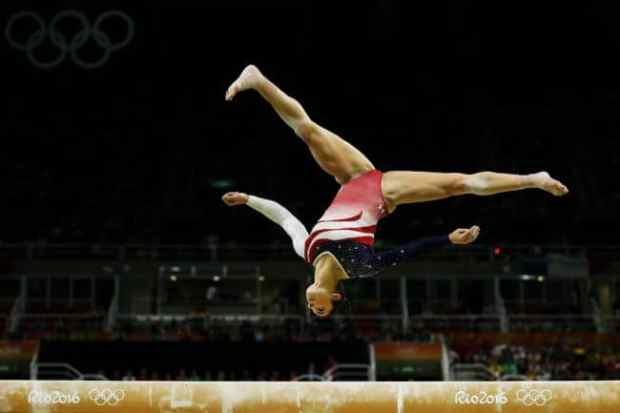 Gymnastics Flying Cartwheel on a Balance Beam | Gymnastics Evolution