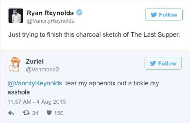 57bd1bc5ed6cc - Ryan Reynolds' Ãœber Polite Responses To Horny Fan Tweets Are The Funniest Thing Ever