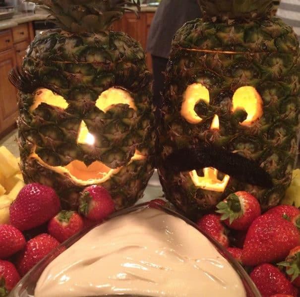 57fb3fcebb971 - Forget Pumpkins, Pineapple Jack O' Lanterns Are The Latest Hallowe'en Trend