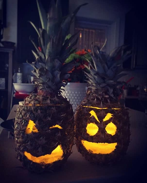 57fb3fcf85078 - Forget Pumpkins, Pineapple Jack O' Lanterns Are The Latest Hallowe'en Trend