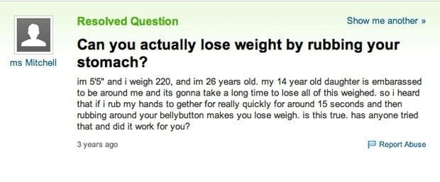 58208ece72e47 - 21 Genuine 'Yahoo Answers' Questions That Will Make You Fear For Humanity's Future