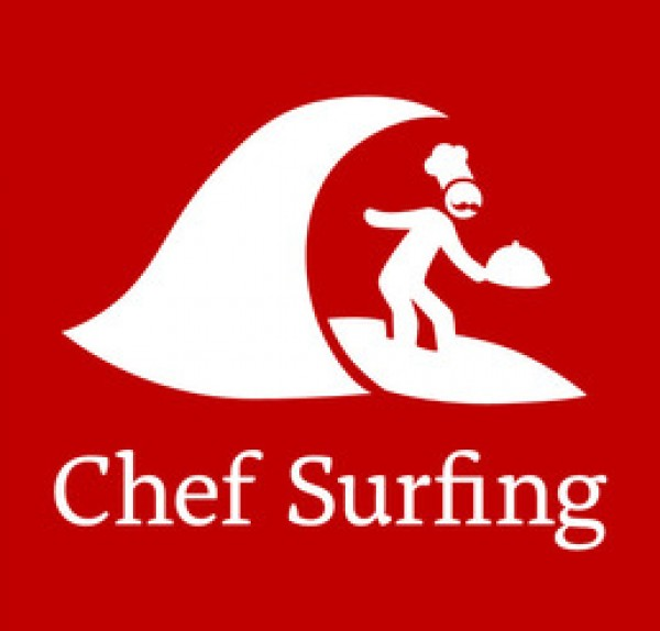 chef surfing