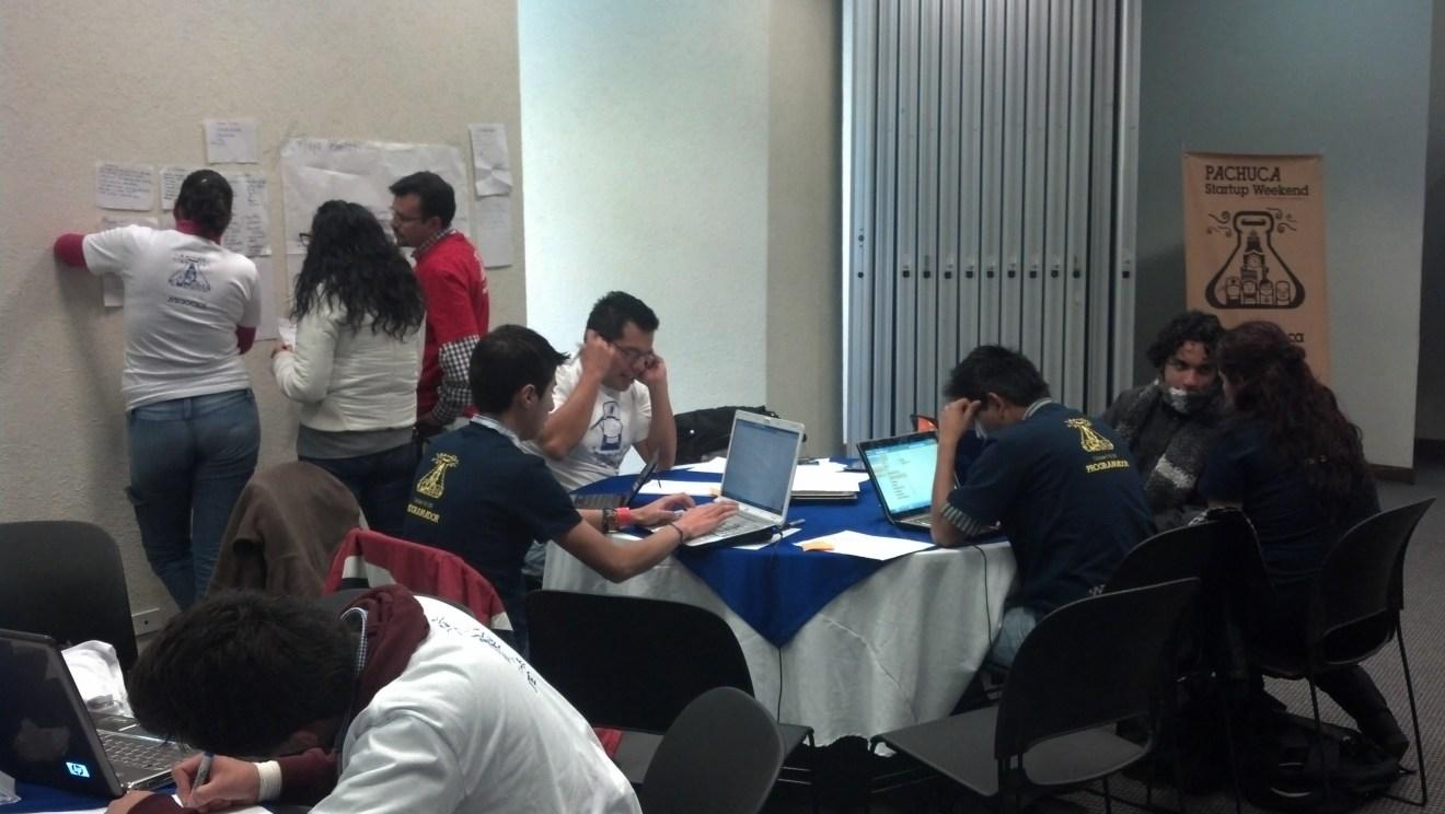 equipos trabajando