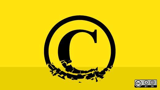 Copyright license choice