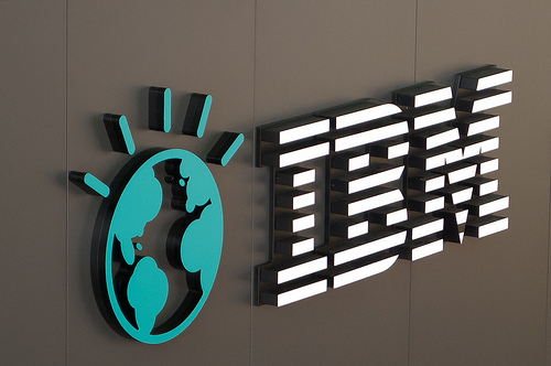 CeBIT 2011 - IBM Logo