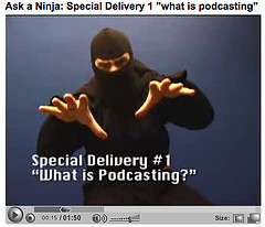 Ask a Ninja : What is Podcasting?