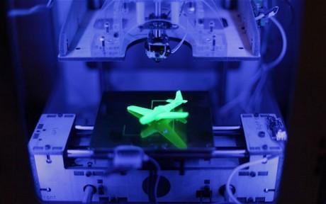 Impresora 3D. Fotografía Telegraph.co.uk.