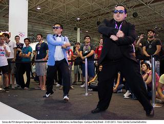 Gangnam Style na Área Expo