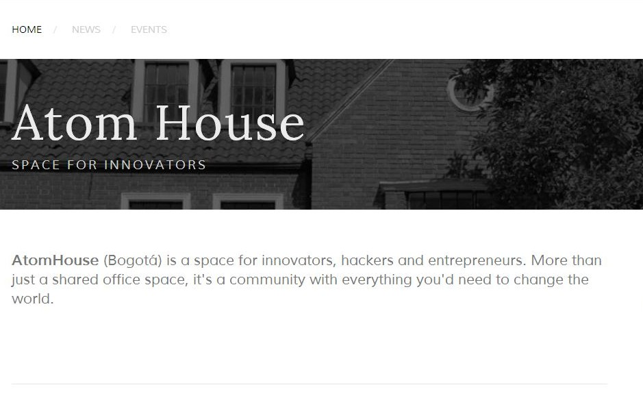 Atom House screenshot