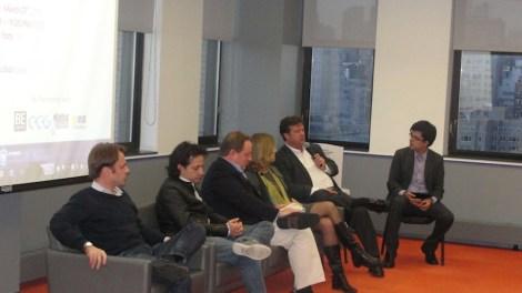 El panel de discusión se enfocó en el panorama de las startups en la región.