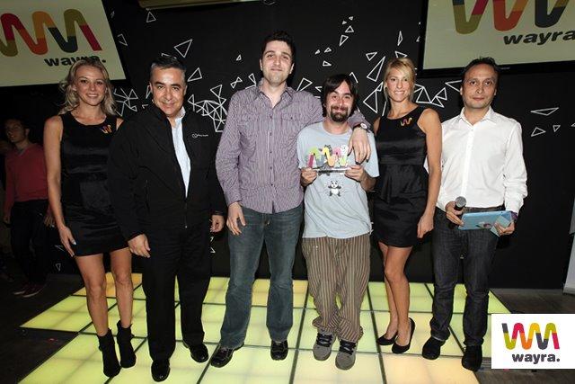 Los fundadores de Loharia.com, otro de los seleccionados.