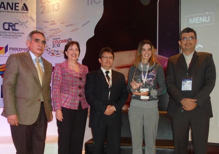 Premiación Colombia TIC