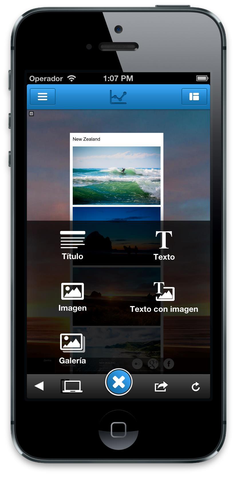 Jimdo App iOS6