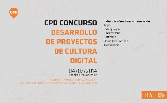 CPD Concurso Cultura Digital 2014 - Flyer