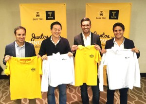Easy Taxi & Tappsi merge offical team photo