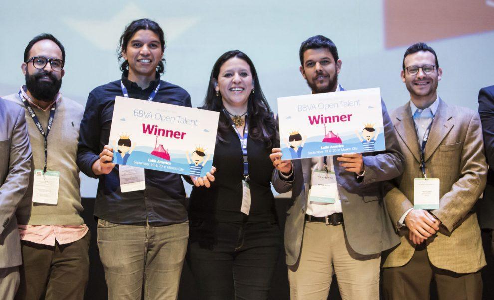 ganadores BBVA Open Talent 2016 - Fintech