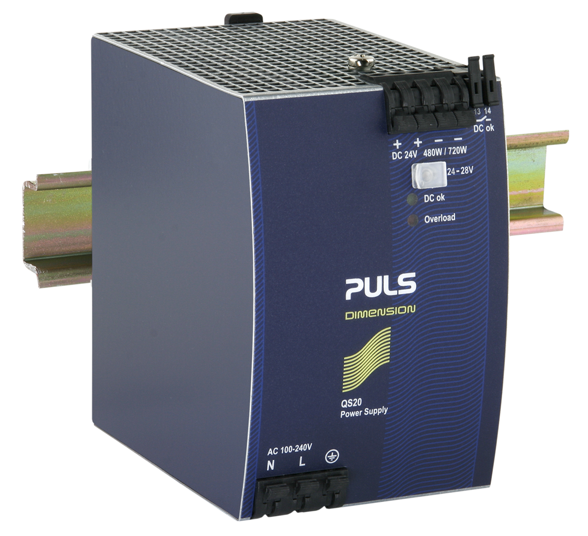 A1 Din Qs20 241 A1 Din Rail Power Supplies For 1 Phase Systems
