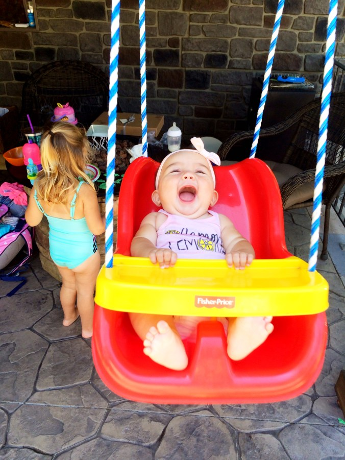 reesey swinging