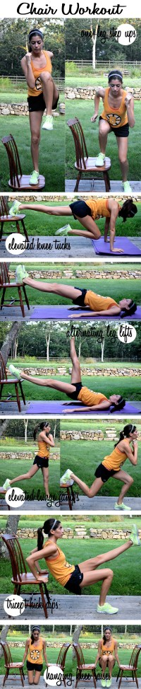 Chair Workout | Pumps & Iron