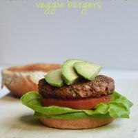 Sweet Potato Veggie Burgers (Vegan + Gluten Free)