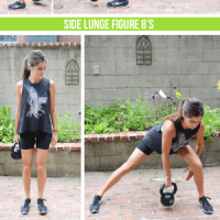 Legs & Butt Kettlebell Workout with Cardio