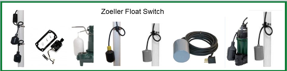 Zoeller Sump Pump Float Switch