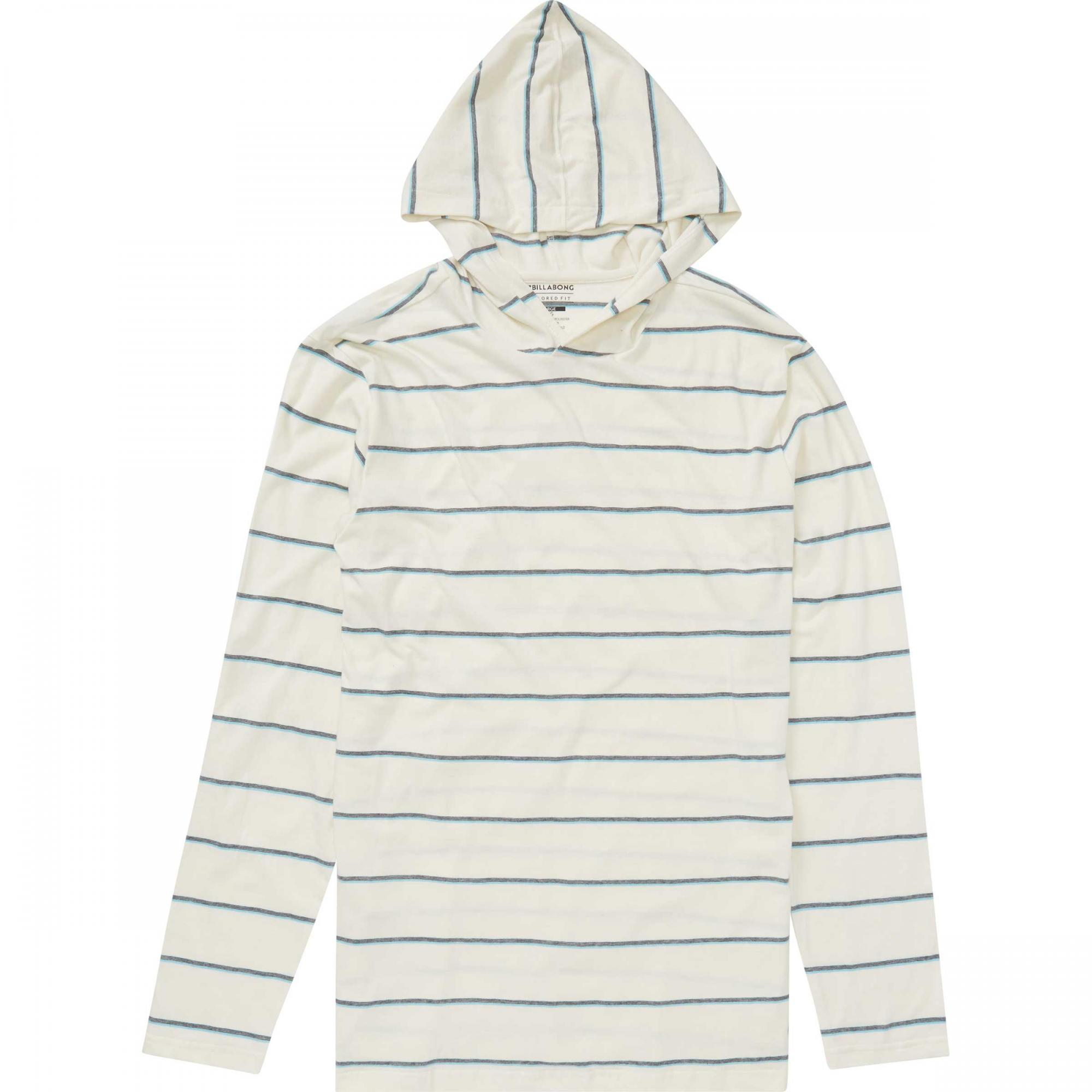 Pullover Hoodie Cut Billabong Mens Die Cut Stripe Pullover Hoodie Salt White Hoodies Fleece Punch Fit Cyprus