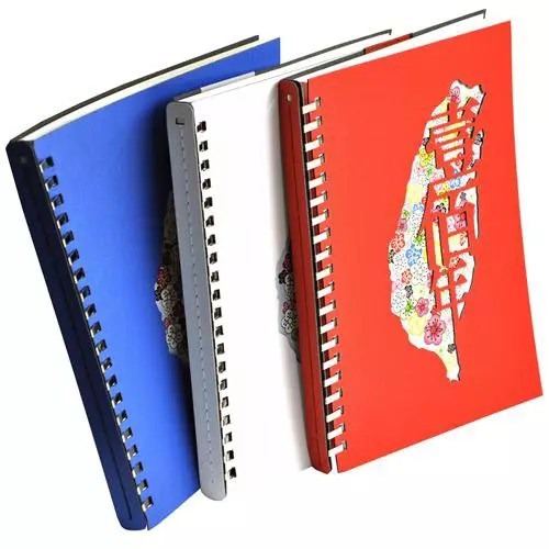 Diary Notebook Die Cut Colorful Notebook Manufacturing