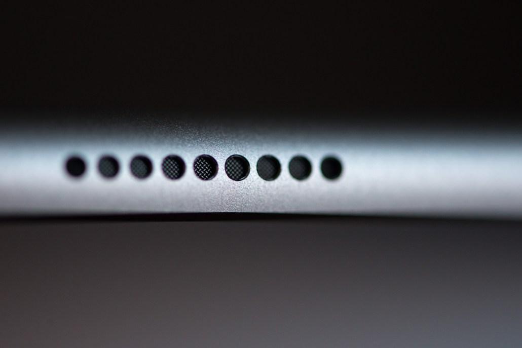 Lautsprecher am iPad Pro © Martin Skopal