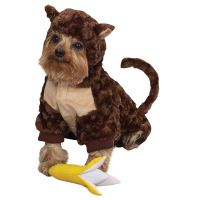 monkey dog halloween costume with banana