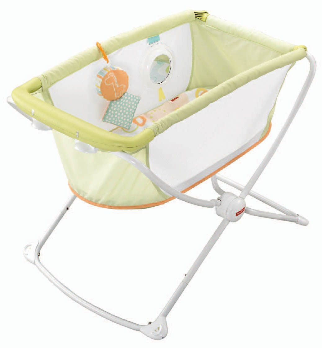 Newborn Bassinet Best Fisher Price Rock N Play Portable Bassinet Green