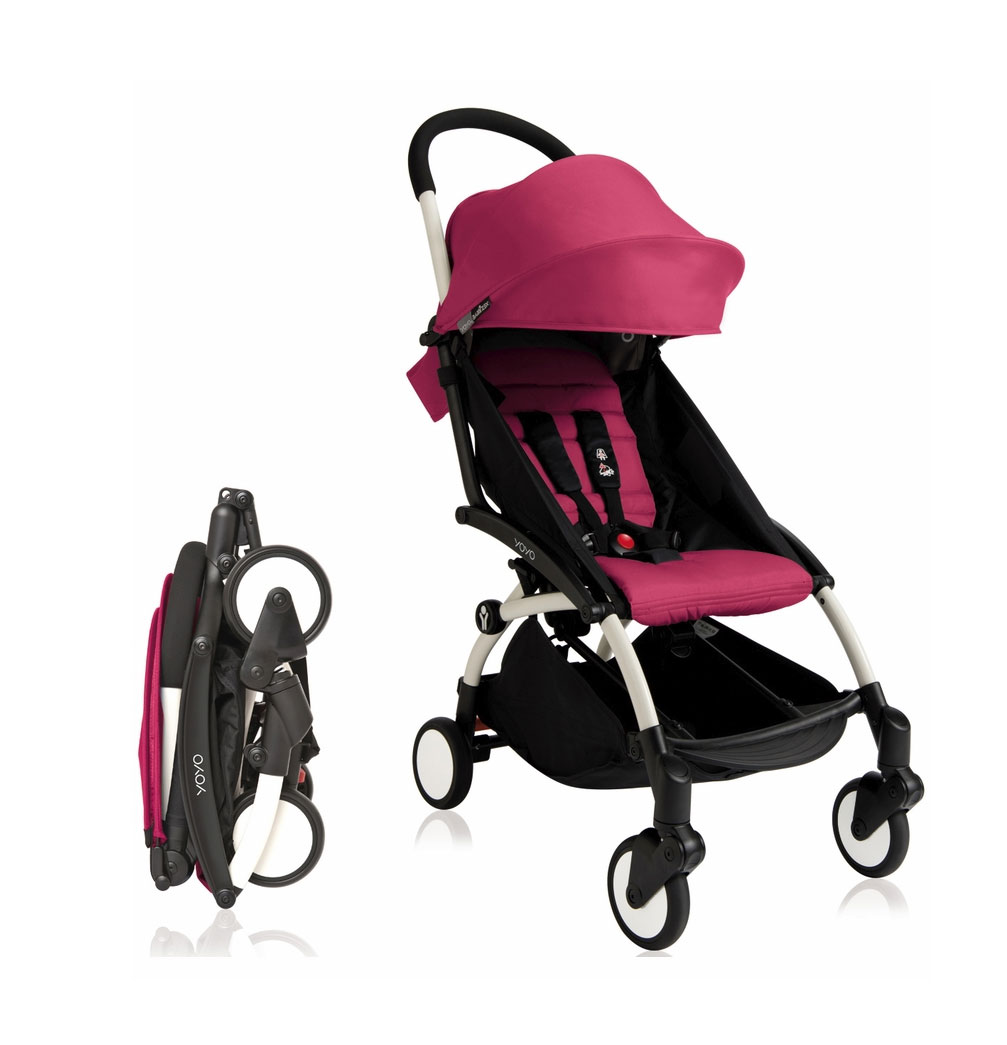 Babyzen Stroller Instructions Babyzen Yoyo 2016 Stroller 6 Pink With White Frame