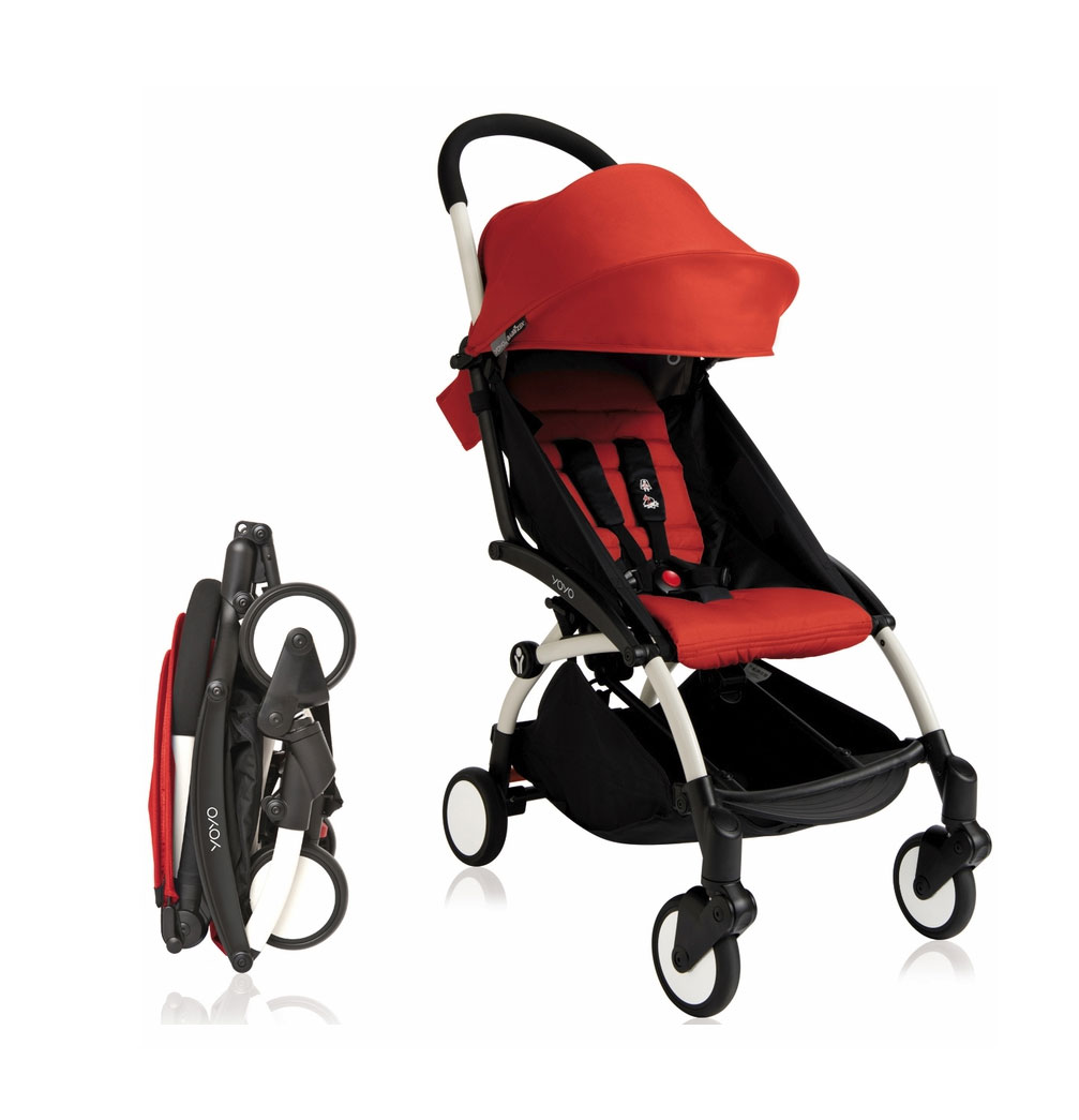 Babyzen Stroller Instructions Babyzen Yoyo 2016 Stroller 6 Red With White Frame