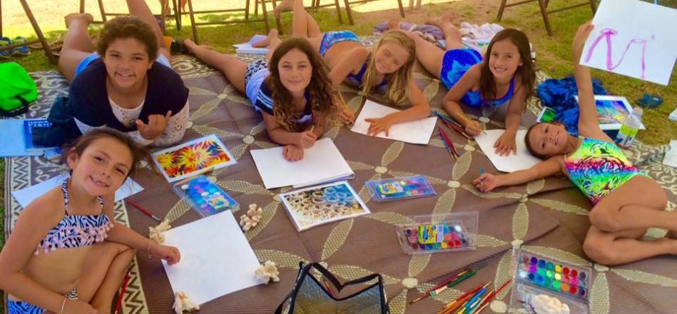 Ka Papa Kai Students Learn About Coral